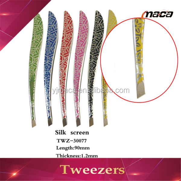 Hot China factory false eyelash sharp pointed eyelash tweezers