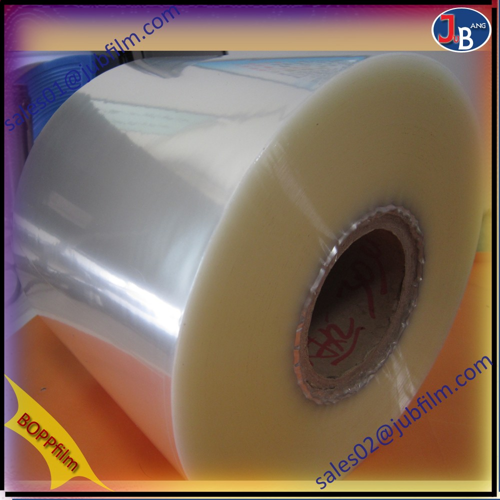 4~8 microns silver foil bopp film for making paper plates, laminating kraft paper with this film