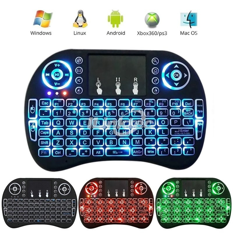 ILINKTEC 2015 NEW IR Remote bluetooth 2.4g backlit keyboard for htpc