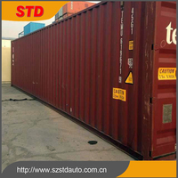 40ft high cube used cargo container prices