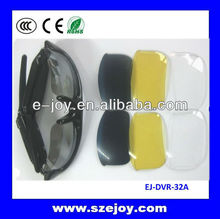 Portable EJ-DVR-32A 5 color lens Sunglass video cam
