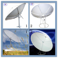 ku band 1.2m portable parabolic satellite dish antenna high quality