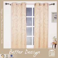 1PC JACQUARD BLACKOUT NEW CURTAINS STYLE FOR 2016 AND CURTAINS DESIGN FOR SALON WITH GROMMETS