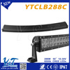 "factory new design Y&T 288w 50"" curved led light bar for buy used cars 288W led offroad lamp for used cars for sale in japan"
