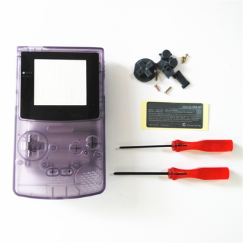 Replacement Shell Housing with sticker screen for game boy color