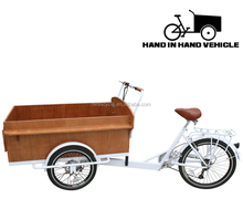 two front wheel cargo trike for factory sale