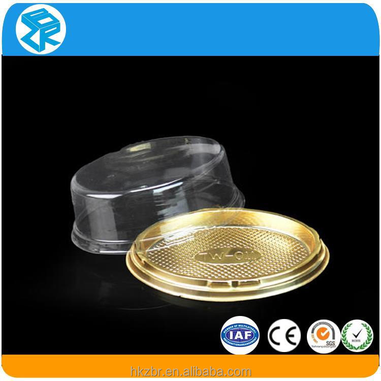 Mini cupcake boxes plastic packaging container
