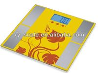 CAMRY Electronic Body fat Scale with square eletrodes
