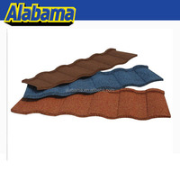 Diversified Colors new design sand coated galvanized zinc roof tile, color roofing sheet sizes