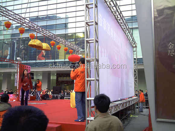 Top quality global truss,lighting truss led display use