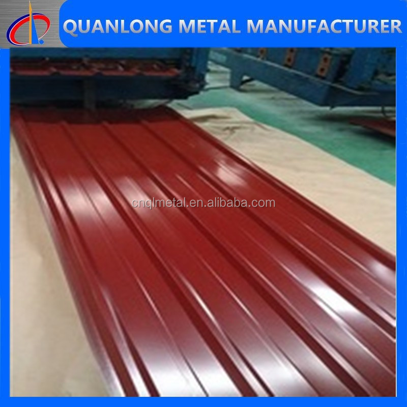 Color Coated Metal Roofing Tile