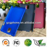 custom PC rubber coating case for samsung galaxi note 3 note III case made in China