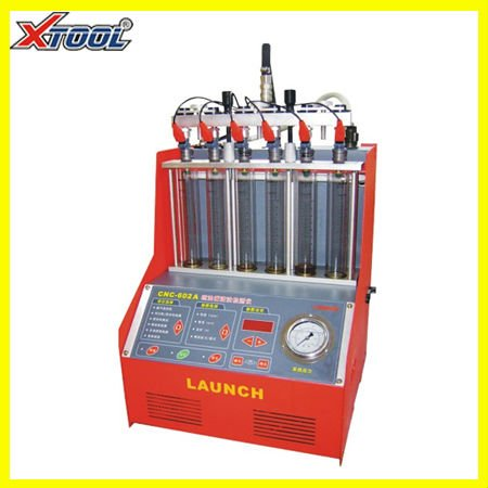 Auto clean and test injectors CNC602A with high quality