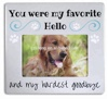 Dog Memorial Picture Frame For Dog or Cat