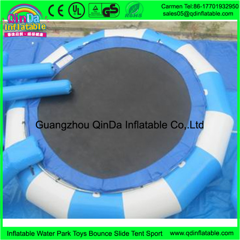 Funny water toy inflatable trampoline mat from china like inflatable boat on the water