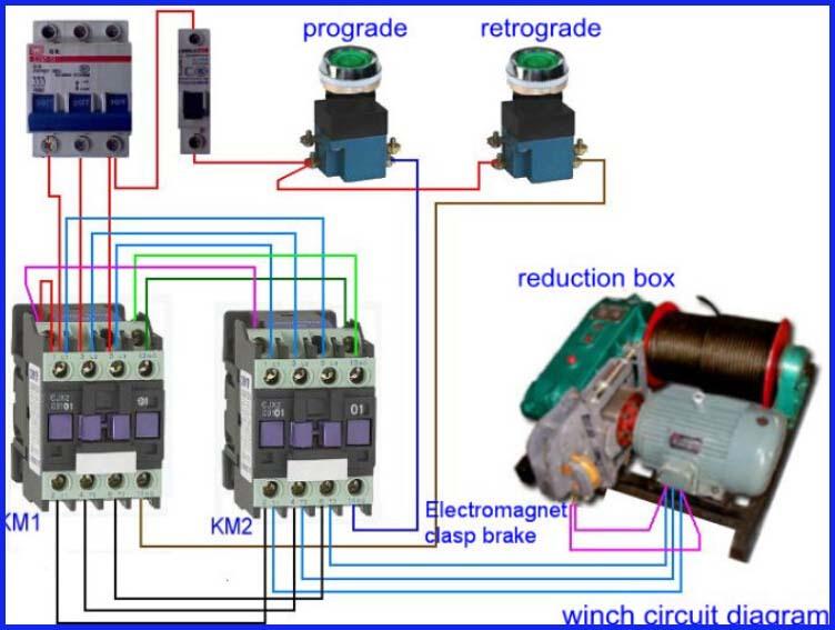 220v  380v Power Supply 10ton Mining Electric Winch Rope
