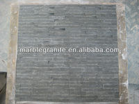 Wall Cladding Split Face Basalt Mosaic