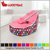 2015 New Designed Printed Bean Bag Chair/ 100% Colour Customized Baby Bean bag / Smooth Comfortable Baby Bean Bag Chair