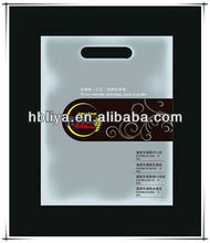 2013 strong clear organza shopping plastic tote bags