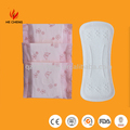 Ultra thin 155mm, 180mm butterfly panty liners
