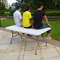 portable folding table for camping and event