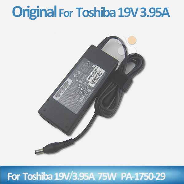 Lower price 19v 3.95a 75w laptop ac adapter for toshiba with 4 pin 5.5*2.5mm