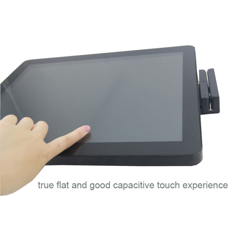 Windows/Android point of sale display/Pos touch screen with vfd customer display