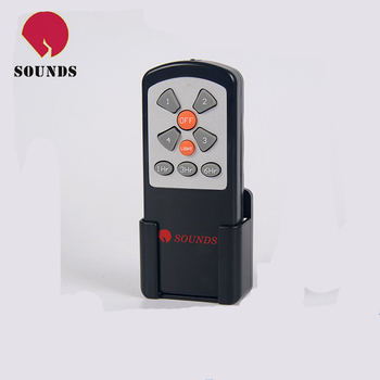 IR fan remote control with 9keys 4 speedcontrol with light