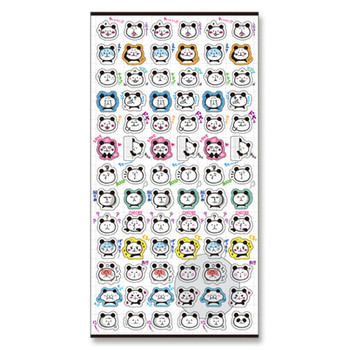 Super panda diary hand account DIY decoration stickers