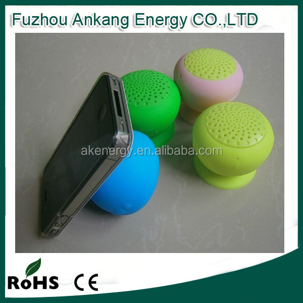 Mushroom Waterproof Bluetooth speaker wireless Portable Bathing Water Shower Mini Waterproof Bluetooth Speaker