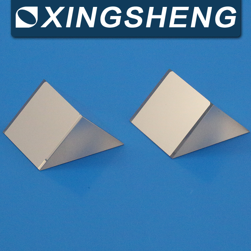 high quality Optical glass prism, BK7/K9 optical glass, triangular prism made in China