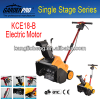 Electric Snow Plow Manual Snow Pusher Blower KCE18-B