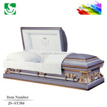 good quality purple metal casket sales
