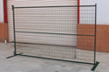 Canada cheap used steel construction temporary fencing for sale