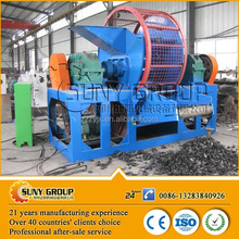 high output rubber tire recycling machine/crumb rubber price