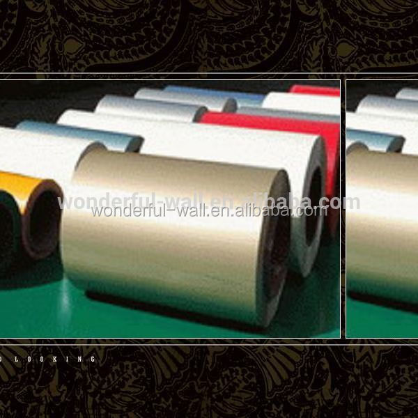 Color coated aluminum coil/decorative material