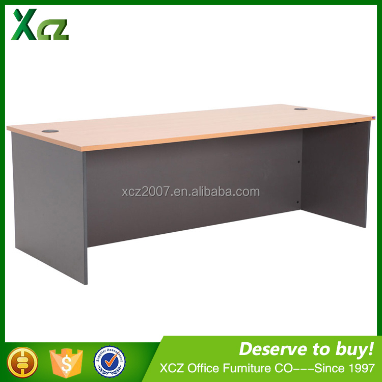 Cheap modern design I-shape office table cover the united Arab emirates