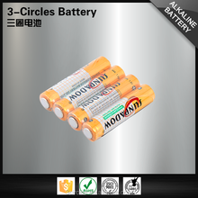 Necessary 1.5v LR03 flashlight alkaline battery aaa