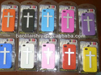 Latin cross of Christ characteristic special gift silicone hand phone suit for Iphone 4
