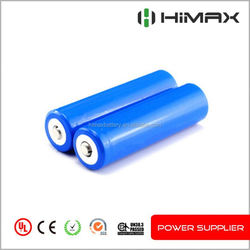 High Drain ICR 18650 Li-ion Rechargeable 3.6V 2000mAh Lithium Battery