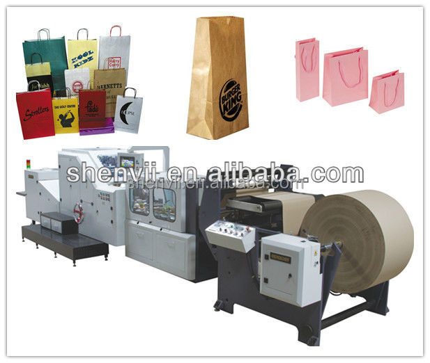 Automatic Paper Bag Making Machine For Food