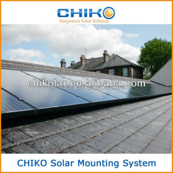 European standard Rooftop Solar Panel Installation bracket System