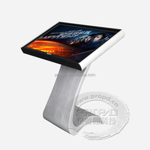 CPU 1037 interactive small size 19inch lcd touch kiosk