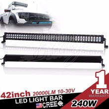 Auto Accessories 240W 41.5inch Offroad Led Light Bar for all cars