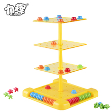 Outdoor tic tac turn play or spin chess table for family game