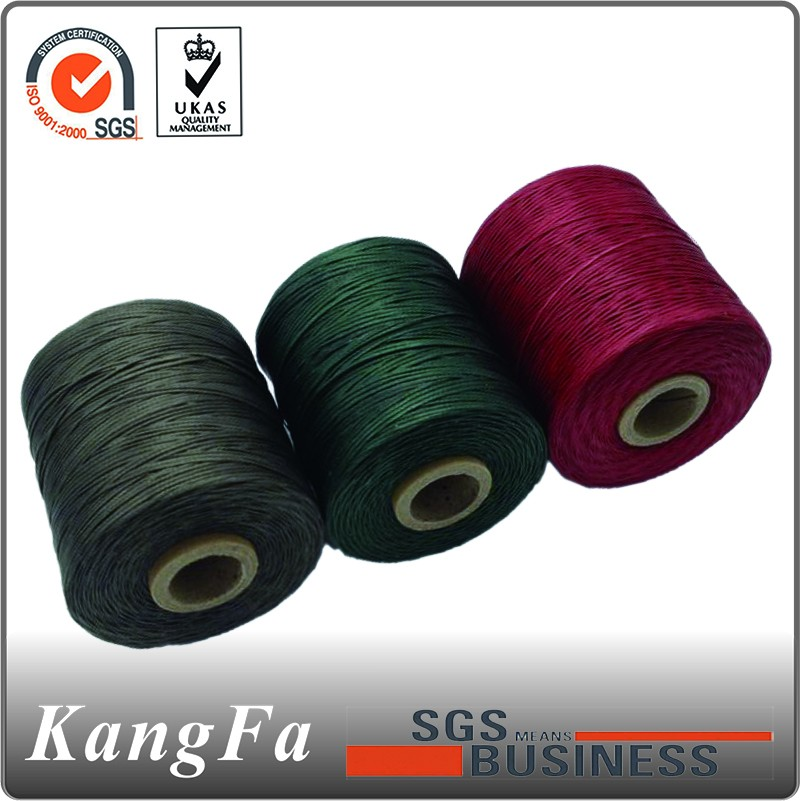 500 meters 1 mm flat braided waxed sewing thread