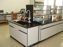 chemical resistant board lab countertop