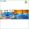 Optional imported nylon rope hand knitted gorgeous flower in kids indoor crochet playground project