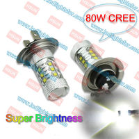 super brightness 80W C.R.E.E HB2 HB3 HB4 CAR LED FOG LAMP PY20D 9145 LED LIGHT H4 H7 H8 H9 H10 H11 9005 9006 LED HIGH POWER