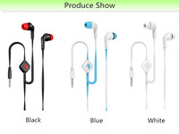 Wholesale Factory Price Stereo Wire earphone headphone for mobile phone /iphone